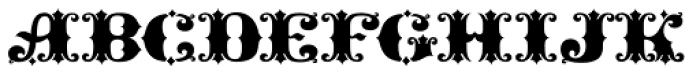 Gold Standard Font LOWERCASE