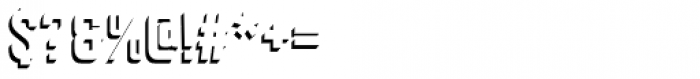 Goldana Drop Shadow Solo Font OTHER CHARS