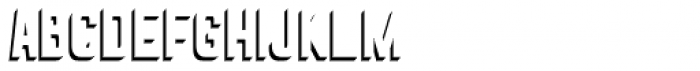 Goldana Drop Shadow Solo Font LOWERCASE