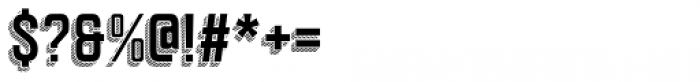 Goldana Drop Stripes Font OTHER CHARS