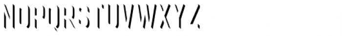 Goldana Extrude Detail Font UPPERCASE