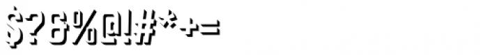 Goldana Extrude Font OTHER CHARS
