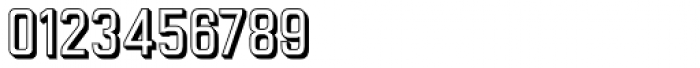 Goldana Outline Extrude Font OTHER CHARS