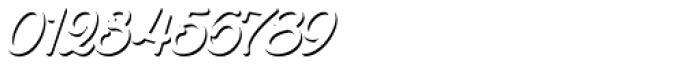 Goldana Script Shadow Solo Font OTHER CHARS