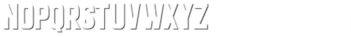 Goldana Shadow Solo Font UPPERCASE
