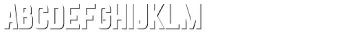 Goldana Shadow Solo Font LOWERCASE