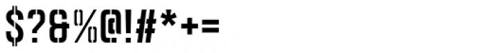 Goldana Stencil Font OTHER CHARS