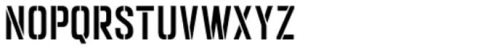 Goldana Stencil Font UPPERCASE