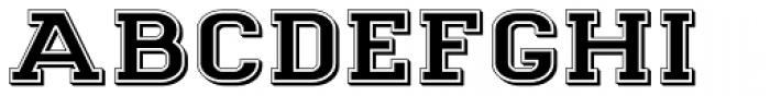Goldbarre No 2 Font LOWERCASE