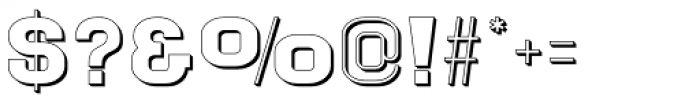 Goldbarre No 3 Font OTHER CHARS