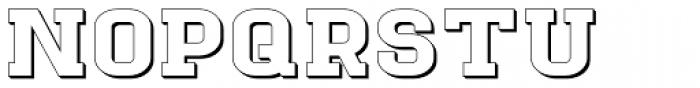Goldbarre No 3 Font UPPERCASE
