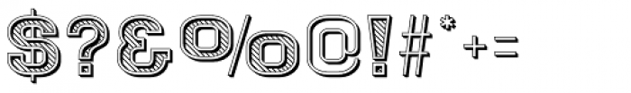 Goldbarre Font OTHER CHARS