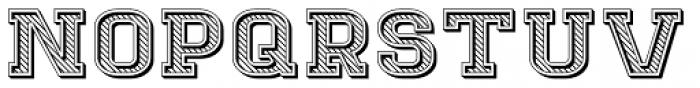 Goldbarre Font LOWERCASE