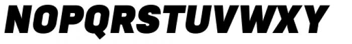 Goldbill Black Italic Font UPPERCASE