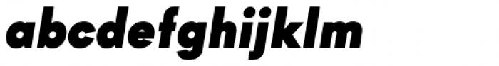 Goldbill Black Italic Font LOWERCASE