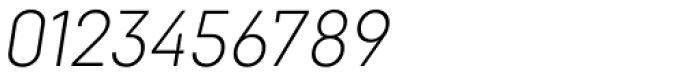 Goldbill Extra Light Italic Font OTHER CHARS