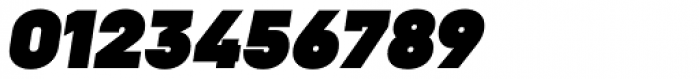 Goldbill XL Heavy Italic Font OTHER CHARS