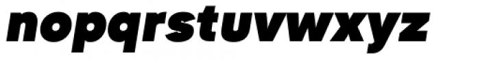 Goldbill XL Heavy Italic Font LOWERCASE