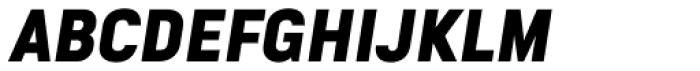 Goldbill XS Bold Italic Font UPPERCASE