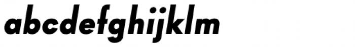 Goldbill XS Bold Italic Font LOWERCASE