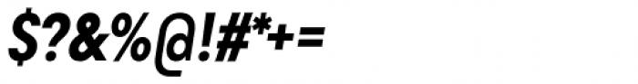 Goldbill XS Demi Bold Italic Font OTHER CHARS