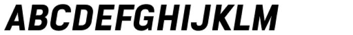 Goldbill XS Demi Bold Italic Font UPPERCASE