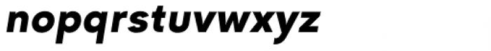 Goldbill XS Demi Bold Italic Font LOWERCASE