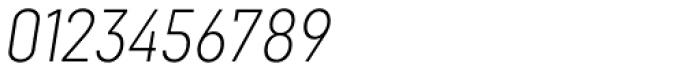 Goldbill XS Extra Light Italic Font OTHER CHARS