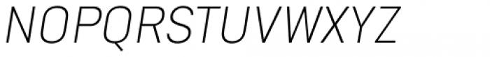 Goldbill XS Extra Light Italic Font UPPERCASE
