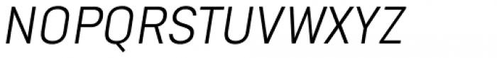 Goldbill XS Light Italic Font UPPERCASE