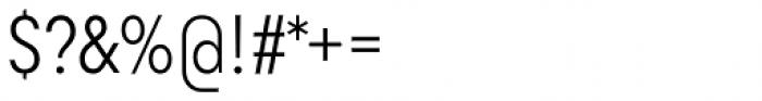 Goldbill XS Light Font OTHER CHARS