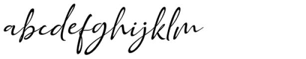 Golden Class Font Duo script slant Font LOWERCASE