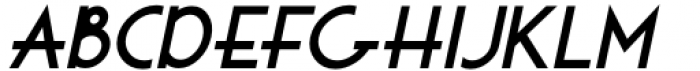 Golden Moment JNL Oblique Font LOWERCASE