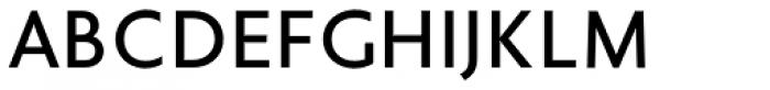 Golden Sans Font UPPERCASE