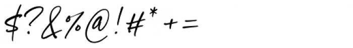 Goldney Regular Font OTHER CHARS