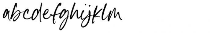 Goldney Regular Font LOWERCASE