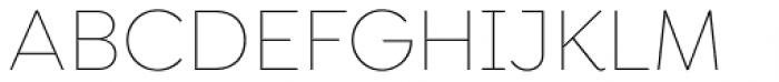 Goldplay Alt Thin Font UPPERCASE