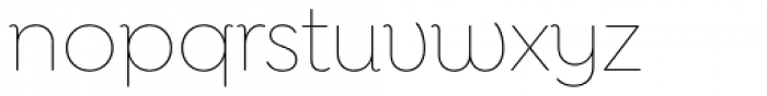 Goldplay Alt Thin Font LOWERCASE