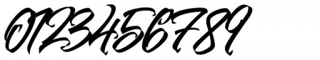 Goliath Regular Font OTHER CHARS