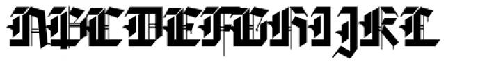 Golondrina Africana Font UPPERCASE