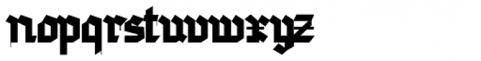 Golondrina Africana Font LOWERCASE