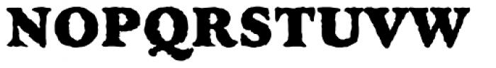 Golum Font UPPERCASE
