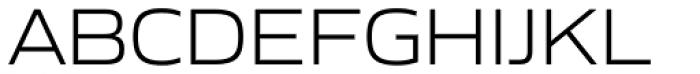Gomme Sans Light Font UPPERCASE