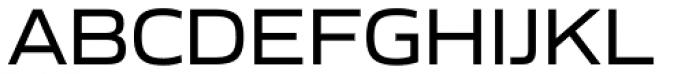 Gomme Sans Regular Font UPPERCASE