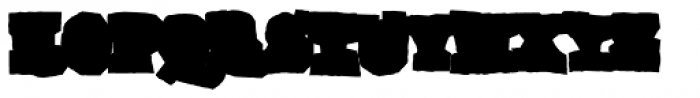 Gomoku Bold Font UPPERCASE
