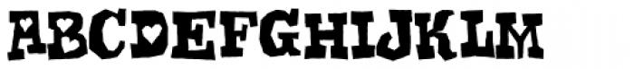 Gomoku Regular Font LOWERCASE