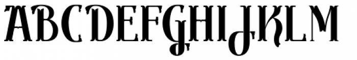 Gondolieri Condensed Bold Font UPPERCASE