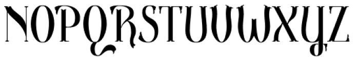 Gondolieri Condensed Font UPPERCASE