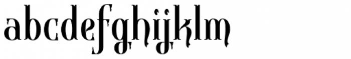 Gondolieri Condensed Font LOWERCASE