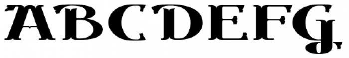 Gondolieri Expanded Bold Font UPPERCASE